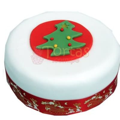 Torta Navideña Redonda | Regalos de Navidad para sorprender - Whatsapp: 980-660044