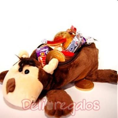 Delivery de Chocolates Para Regalar | Peluche con Chocolates - Cod:CHN08