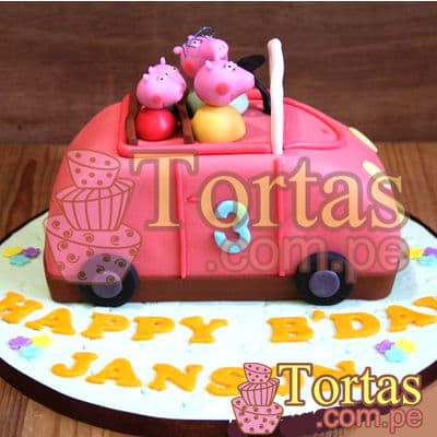 Torta Peppa Pig - Whatsapp: 980-660044