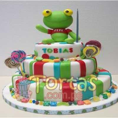 Torta Sapo Pepe | Tortas Perú - Cod:TPP01