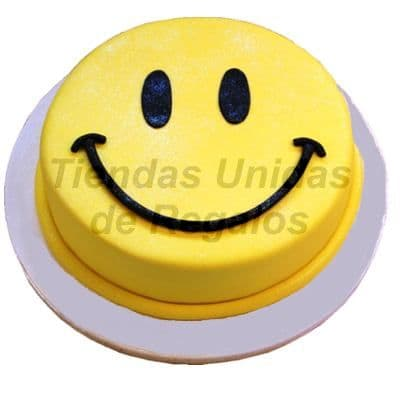 Torta cara feliz | Torta Decorada Smile Carita Feliz Torta Decorada - Cod:TRR04