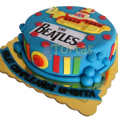 Torta Beatles  - Cod:TRR05