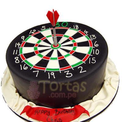 Torta Dardo | Torta de Dardos - Cod:TRR35
