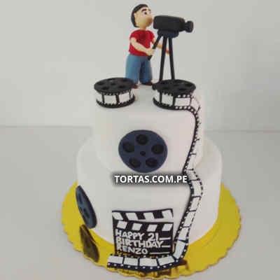 Torta Cine | Tortas Peru | Torta Cinema - Cod:TRR42