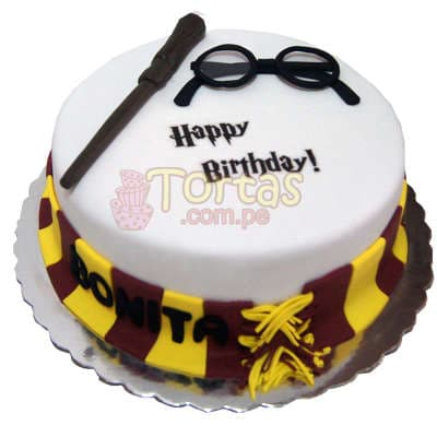 Torta Harry Potter- Whatsapp: 980-660044