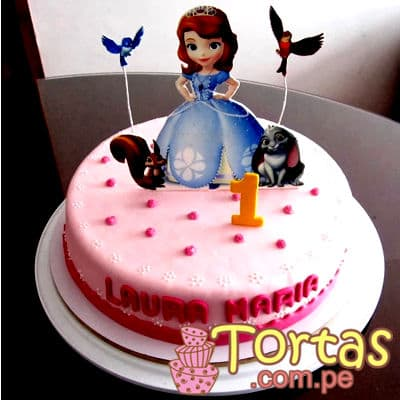 Torta de Princesa Sofia | Princesa Sofia Cakes - Whatsapp: 980-660044