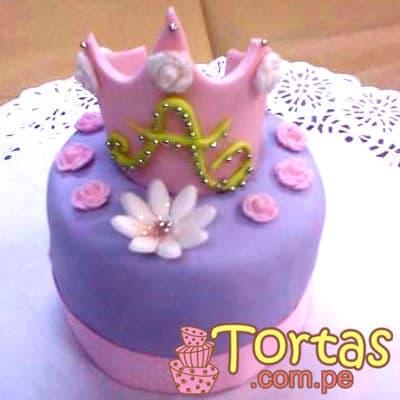 Torta de Corona Princesa Sofia - Cod:TSI03