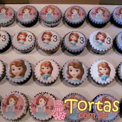 Cupcakes de Princesa Sofia | Princesa Sofia Cakes - Whatsapp: 980-660044