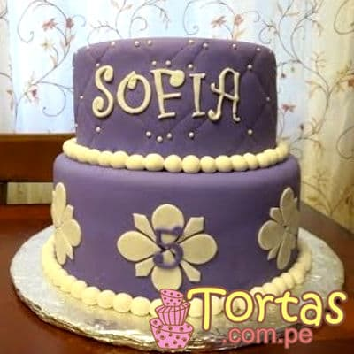 Torta del tema de Princesa Sofia  - Cod:TSI08
