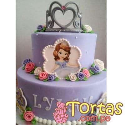 Torta de Princesa Sofia - Whatsapp: 980-660044