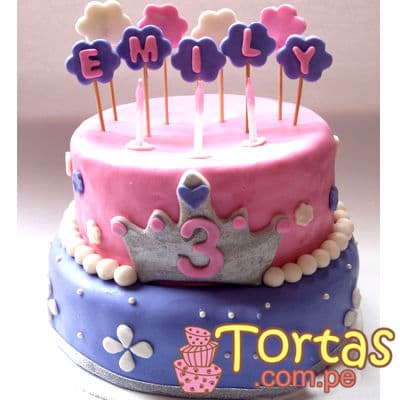 Torta con tema de Princesa Sofia | Princesa Sofia Cakes - Whatsapp: 980-660044