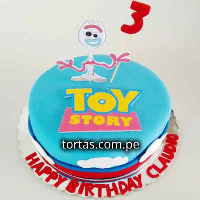 Torta Toy Story 01 - Whatsapp: 980-660044