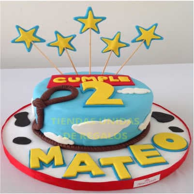 Tortas de Toy story | Torta Toy Story Tematica - Cod:TST02