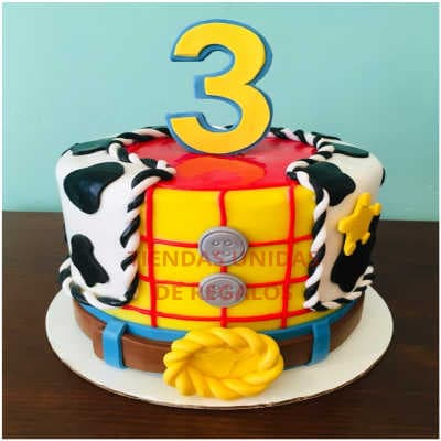 Torta Toy Story Woody 01 - Whatsapp: 980-660044