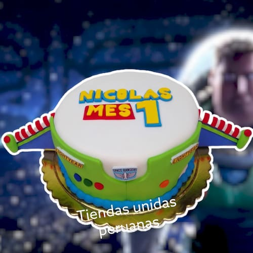 Torta Toy Story Buzz Lightyear | Tortas De Toy Story - Whatsapp: 980-660044