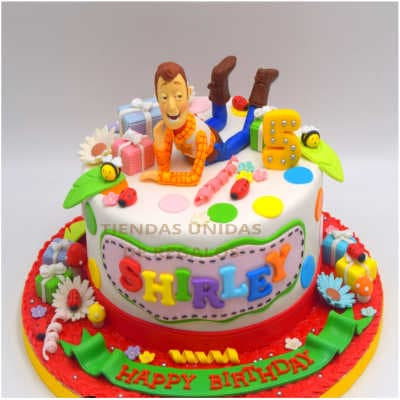 Torta Toy Story Woody 02 - Whatsapp: 980-660044