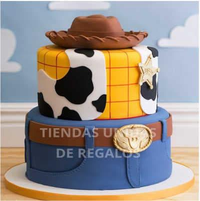 Torta Toy Story Woody 03 - Cod:TST07