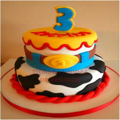 Torta Toy Story Yessi 02 - Whatsapp: 980-660044