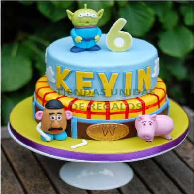 Torta Toy Story 02 - Whatsapp: 980-660044