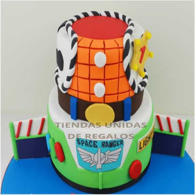 Torta Toy Story 05 - Whatsapp: 980-660044