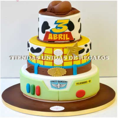 Torta Toy Story 06 - Whatsapp: 980-660044