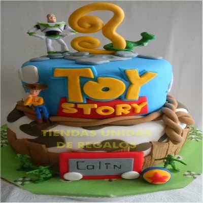 Torta Toy Story 08 - Whatsapp: 980-660044