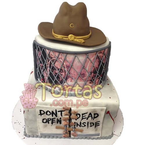 Torta del tema The walking dead | Walking Dead Cake | Torta de The Walking Dead - Whatsapp: 980-660044
