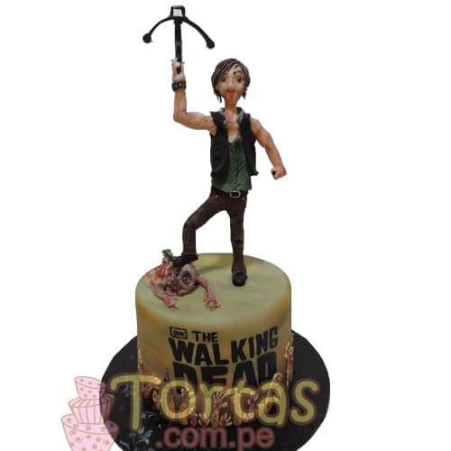 Torta con la tematica The walking dead | Walking Dead Cake | Torta de The Walking Dead - Whatsapp: 980-660044