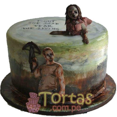 Foto Torta The walking dead | Walking Dead Cake | Torta de The Walking Dead - Whatsapp: 980-660044