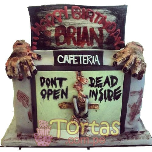Pastel con tematica de The walking dead | Walking Dead Cake | Torta de The Walking Dead - Whatsapp: 980-660044