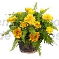 Arreglos de Flores | Arreglo de Margaitas Amarillas - Cod:VAT14