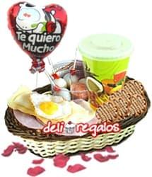 Desayuno para San Valentin | Regalos para San Valentín | Regalos San Valentin - Cod:VLN02