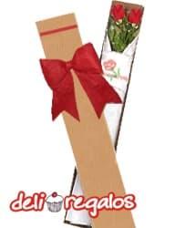 Caja con Rosas para San Valentin | Regalos para San Valentín | Regalos San Valentin - Cod:VLN26