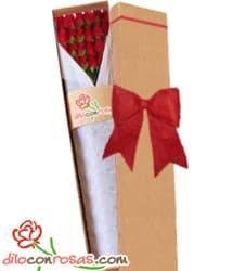 24 rosas importadas para el 14 de Febrero | Regalos para San Valentín | Regalos San Valentin - Cod:VLN32