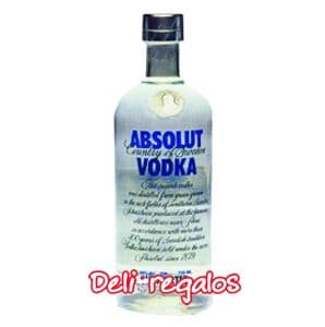 Absolut Vodka Puro | Licores a Domicilio | Vodka Delivery | Vodka - Cod:VOD05