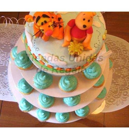 Mini tortas para fiesta infantil - Cod:WAM20