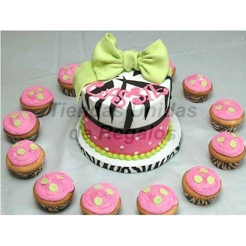 Tortas para Matrimonio | Mini tortas para Quineaños - Cod:WAM30