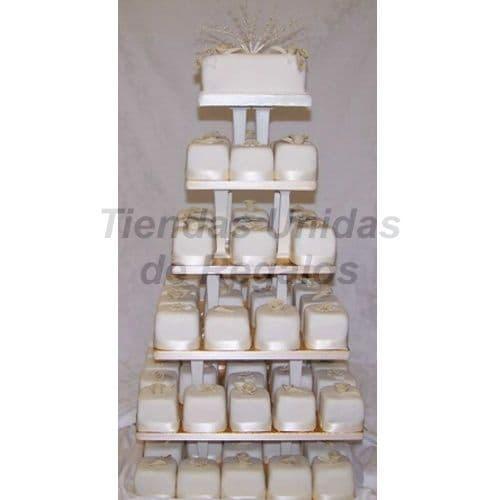 Tortas.com.pe - TORTA MUFFIN 75 - Codigo:WAM75 - Detalles: Torta de seis pisos a base de mini-tortas. Compuesta por 70 mini-tortas decoradas con masa el�stica  y un delicioso queque De Vainilla de 10cm de di�metro.  - - Para mayores informes llamenos al Telf: 225-5120 o 476-0753.