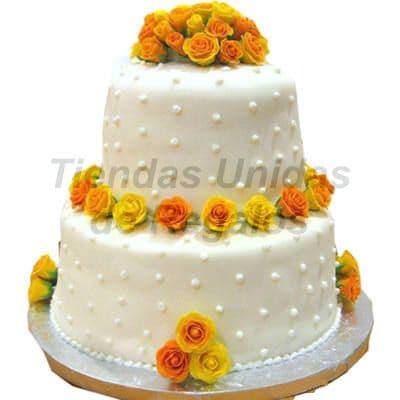 Tortas para Aniversario de boda - Cod:WAS05