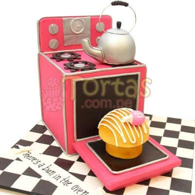 Torta de Cocina - Cod:WAS13