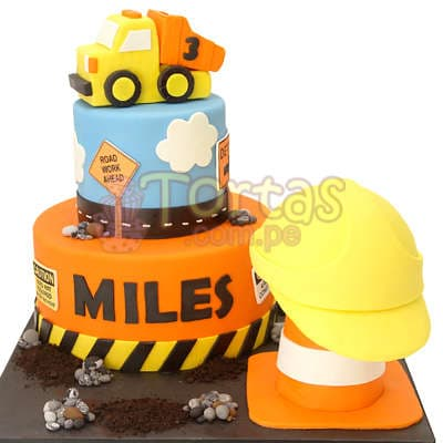 Torta Construccion- Whatsapp: 980-660044