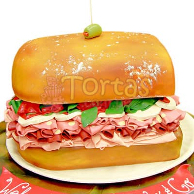 Torta Sandwich 2 - Whatsapp: 980-660044