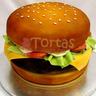 Torta con forma de Sandwich  - Cod:WAS18