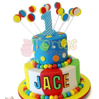 Torta Payaso | Torta en forma de Payaso - Whatsapp: 980-660044