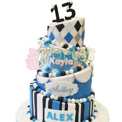 Torta de Arlequin - Cod:WAS23