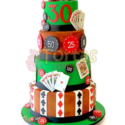 Torta Pocker Casino - Whatsapp: 980-660044