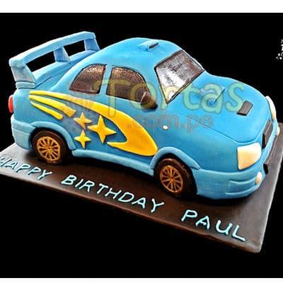 I-quiero.com - Auto 01 - Codigo:WAU01 - Detalles:  Keke De Vainilla   el keke esta finamente decorado en masa el�stica, Medida: 20x30 modelado dise�o segun imagen - - Para mayores informes llamenos al Telf: 225-5120 o 476-0753.