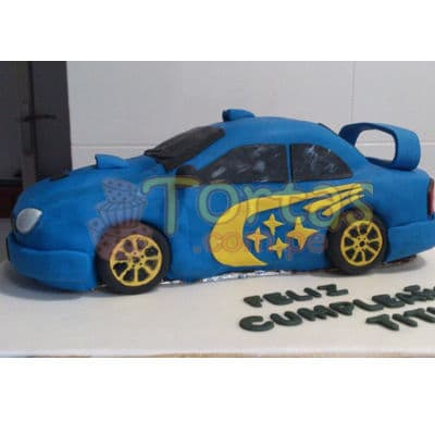Torta Impreza | Torta en Forma de Auto - Cod:WAU02