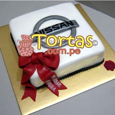 Torta en Forma de Auto | Torta Nissan - Whatsapp: 980-660044