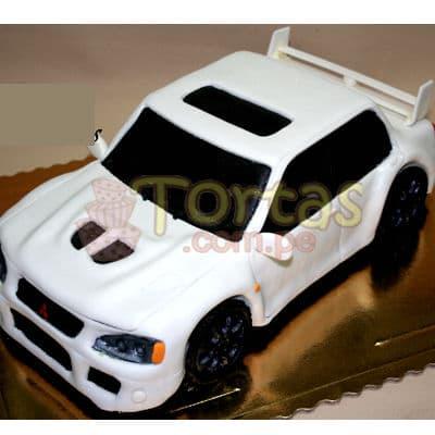 Torta Auto Competencia- Whatsapp: 980-660044